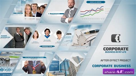 after effects corporate templates free videohive business corporate presentation 187 free after