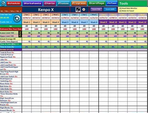 21 Day Fix Spreadsheet by 21 Day Fix Spreadsheet Buff