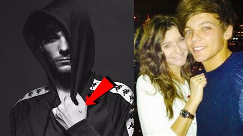 eleanor calder tattoo louis tomlinson debuts new fans think it s for