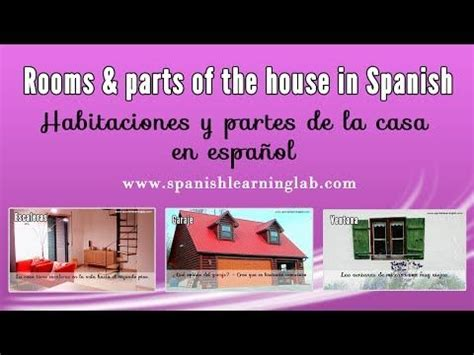 parts of the house in spanish parts of the house in spanish images