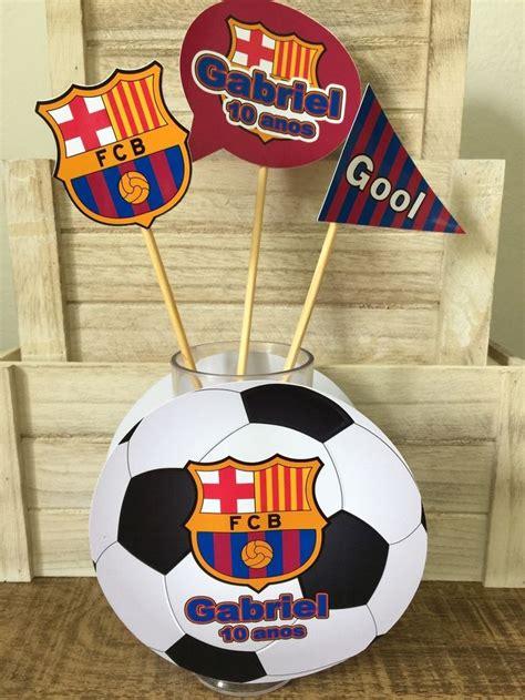 centros de mesa de futbol para clubes centro de mesa futebol barcelona mesas e barcelona