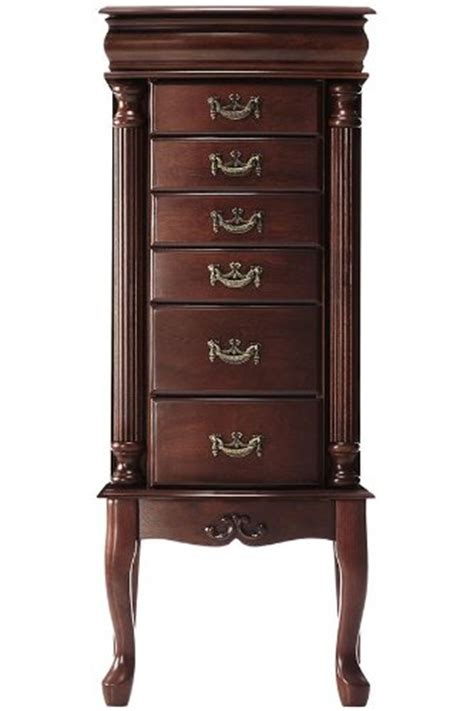 Jewelry Armoire Mahogany by 3 Jewelry Armoire Mahogany