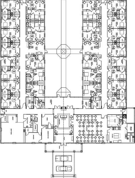 retirement home design plans nursing home floor plans