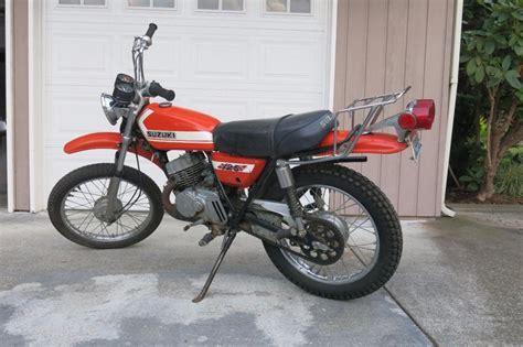 Jok Ts125 Model Builtup suzuki ts 125 motorcycles for sale