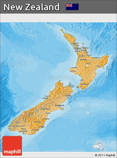 political map of new zealand free political shades 3d map of new zealand