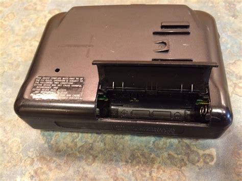 sony walkman cassette vintage sony walkman wm fx221 portable radio cassette
