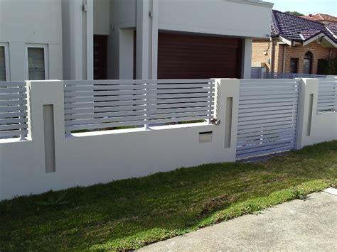 modern fence gate design modern fence design ideas