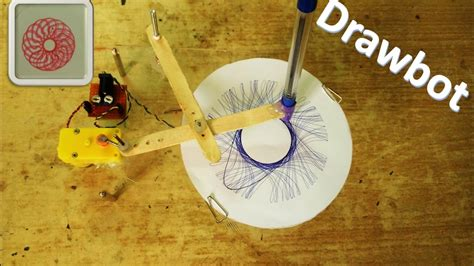 drawing robot spirograph diy robot youtube