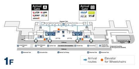 Hong Kong International Airport Floor Plan by About Naha Air Terminal Arrival Usual Route