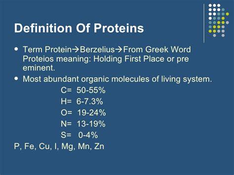 protein definition protein chemistry bsc nursing bpt