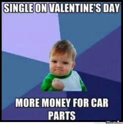 Single Valentines Day Meme - success kid is single on valentine s day by ben meme center