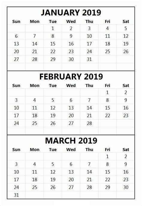 january february march  calendar june  calendar