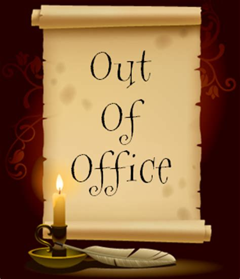 out of the office sign template just saying kyron page 2