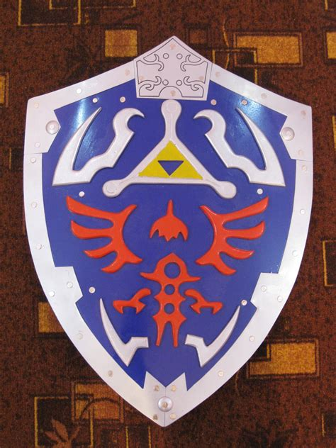 Loz Gift Large 9517 Bird Pink legend of hylian shield with wall plaque