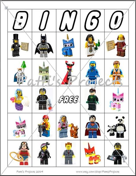 printable lego star wars bingo cards lego inspired bingo game digital download 30 cards
