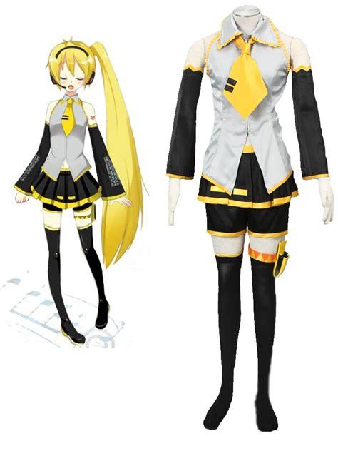 Anime Costumes by Vocaloid Akita Neru Yellow Costume Cosercosplay