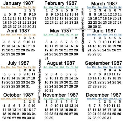 August 1996 Calendar 1987 Calendar Calendar Template 2016