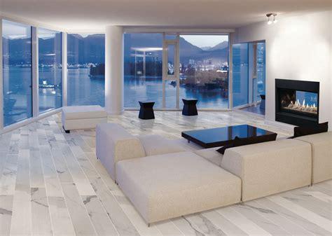 pavimento soggiorno moderno marmo calacatta carrara per soggiorno moderno