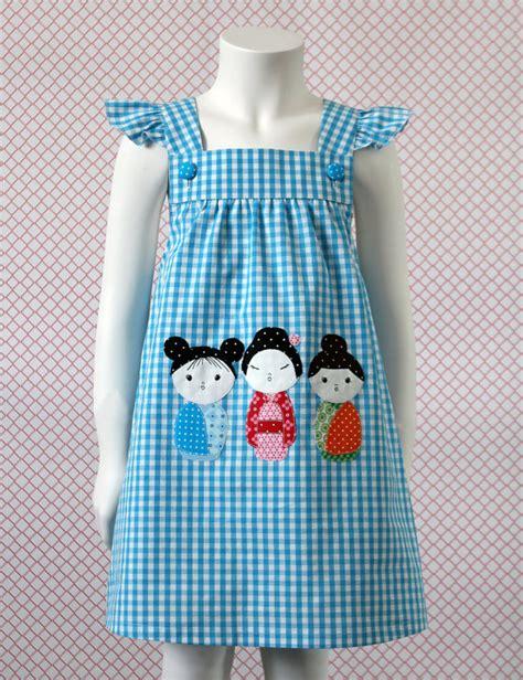 pinafore pattern 2 year old items similar to kokeshi pinafore dress pattern and sewing