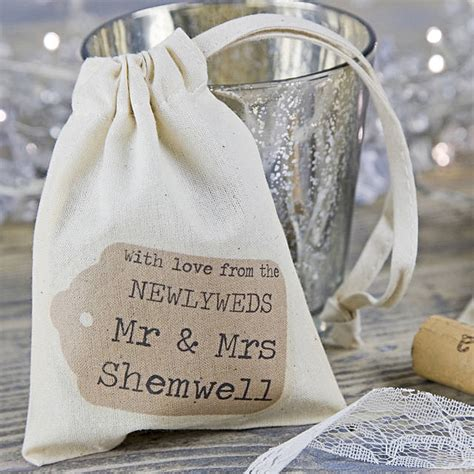 Wedding Favors Bags by Personalised Wedding Favour Bag By 3 Bears