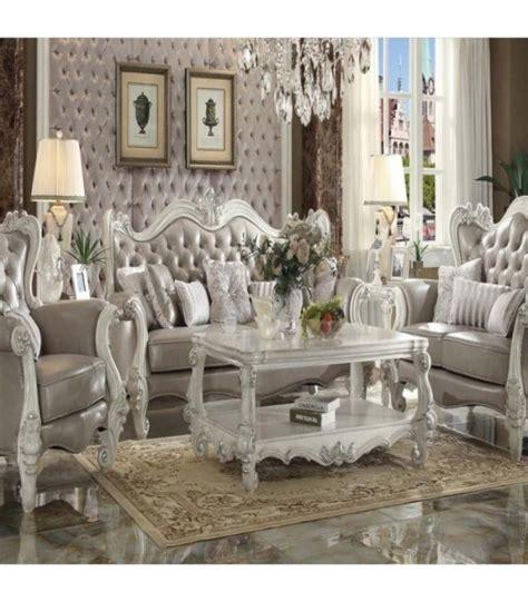 vintage living room sets 3 pc living room set by versailles vintage gray pu