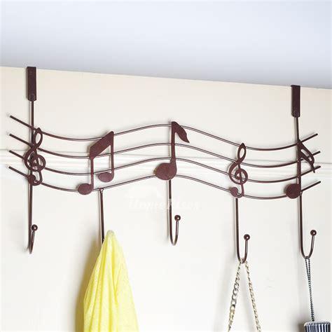 bathroom music bathroom door hooks music shaped metal no drill