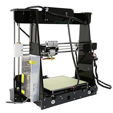 abs bed temperature anet a8 with included filament prusa i3 diy 3d printer prints abs pla and lots