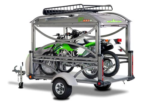 motocross bike trailer motorcycle tent trailers and cers sylvansport