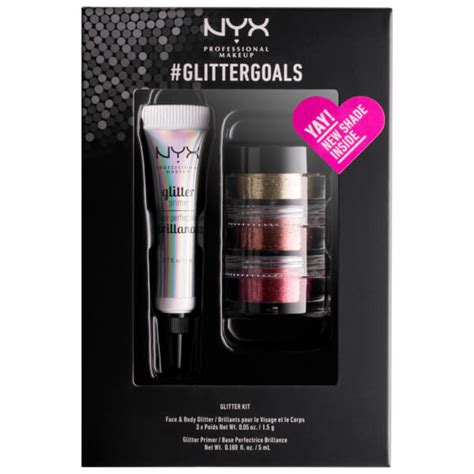 Makeup Kit Nyx nyx professional makeup glittergoals kit env 237 o gratuito