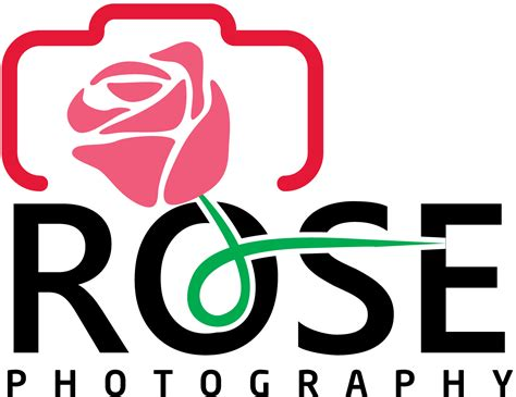 design a rose logo moderno vistoso logo design for rose photography by