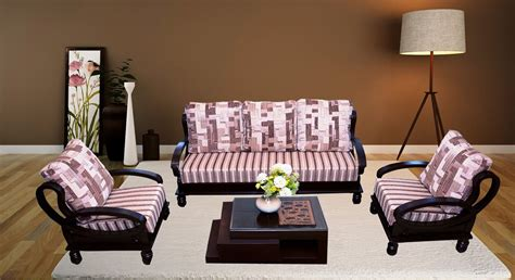Wooden Sofa by Get Modern Complete Home Interior With 20 Years Durability