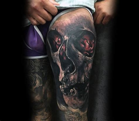 awesome terrific realistic skull tattoo 62 terrific badass skull tattoos designs and ideas about