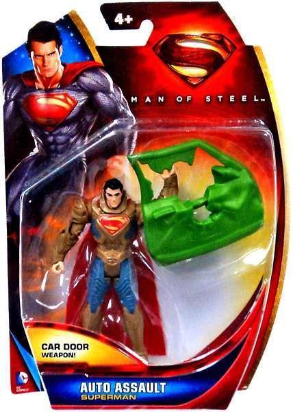 A523 Auto Assault Superman superman of steel superman figure auto assault mattel toys toywiz
