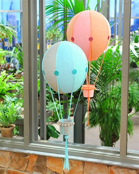 Paper Mache Balloon Crafts - papier mache air balloons martha stewart