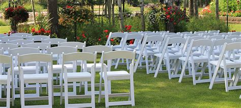 special event chair rentals vision outdoor wedding equipment and supplies rentals special