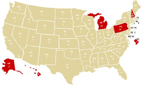 washington dc on us map mccain republican national convention speech map and
