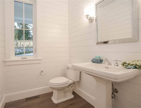 painted tongue and groove bathroom family home with new modern farmhouse interiors home bunch interior design ideas