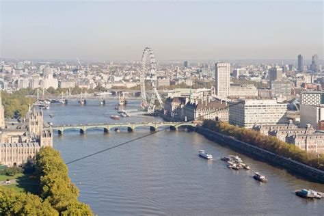 river thames zip wire daredevil zip wire ride across thames to raise 163 1m for