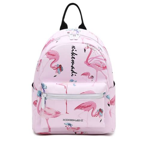 Geos My Baby Pouch Flamingo flamingo design quality leather tredning