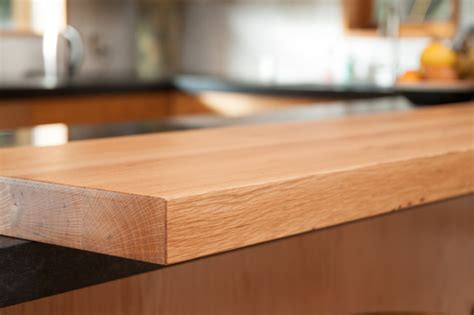 oak bar top reclaimed white oak bar top eclectic kitchen