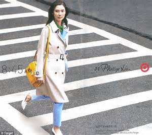 Tailored trench coats sharp shirtdresses and a very familiar bag
