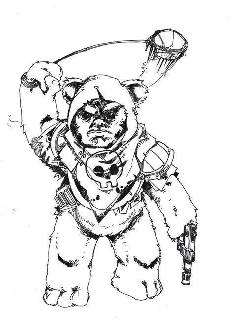 ewok bounty by talfox on deviantart