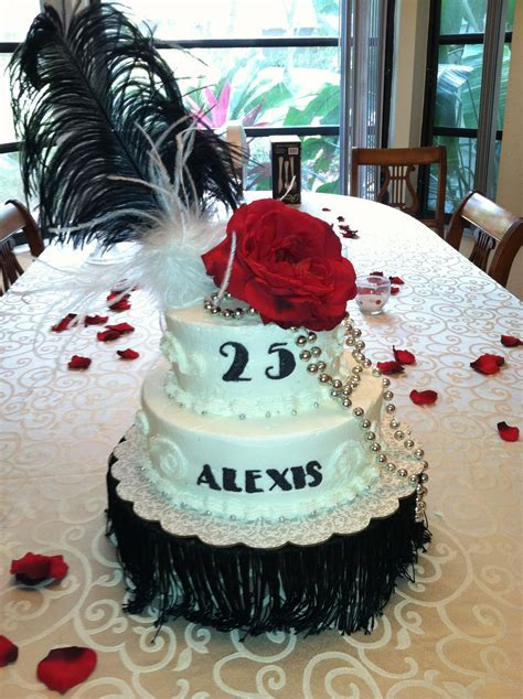 "25th birthday   ""1925 theme cake""   cake   25th birthday"