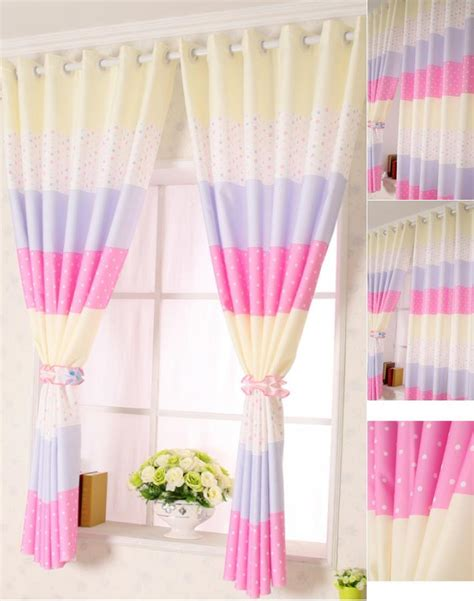 purple and pink curtains sweet blackout pink purple polka dot curtains