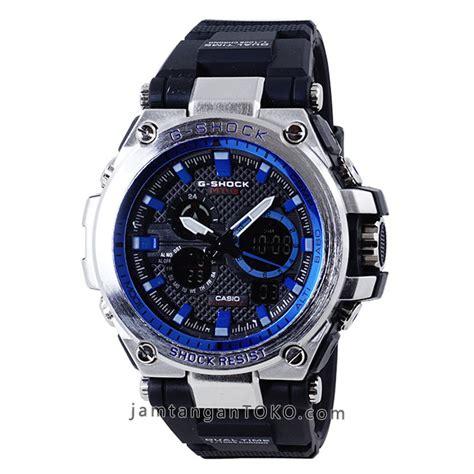harga sarap jam tangan g shock mtgs 1000 1a2 silver blue black rubber