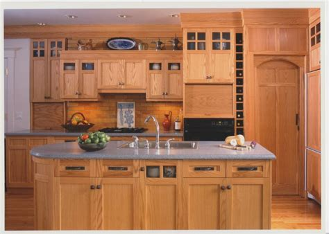 arts and crafts style kitchen cabinets custom arts and crafts kitchen cabinets