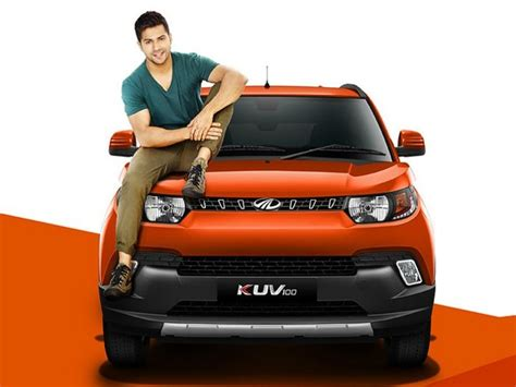 mahindra vehicles official website varun dhawan is official brand ambassador of new micro suv