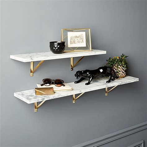 shelves wall mount marble wall mounted shelves cb2