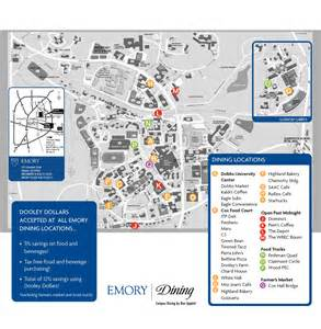 emory map emory dining plans