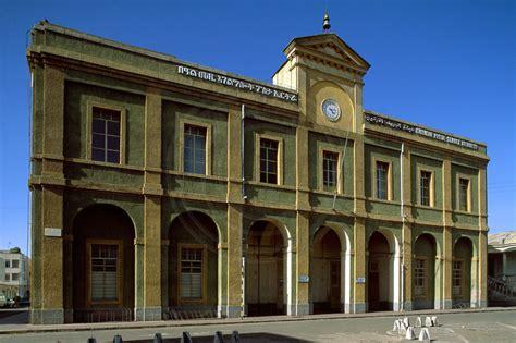 Denison Post Office by Edward Denison Asmara Eritrea Central Post Office